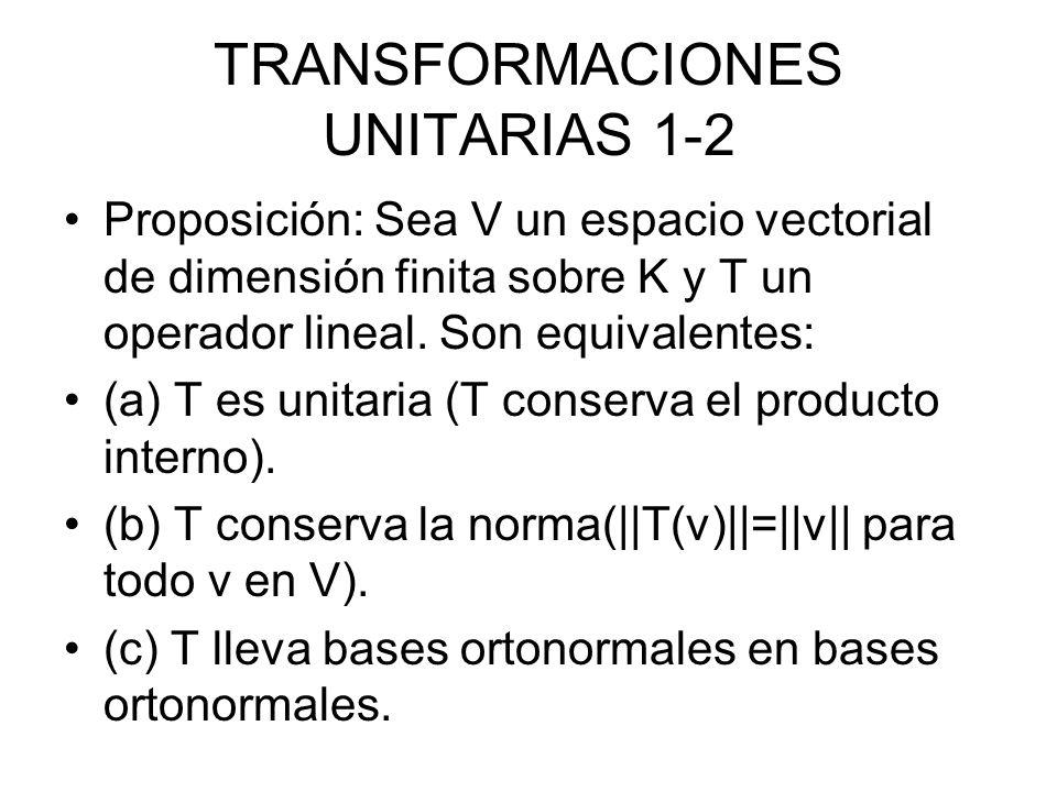 TRANSFORMACIONES UNITARIAS 1-2