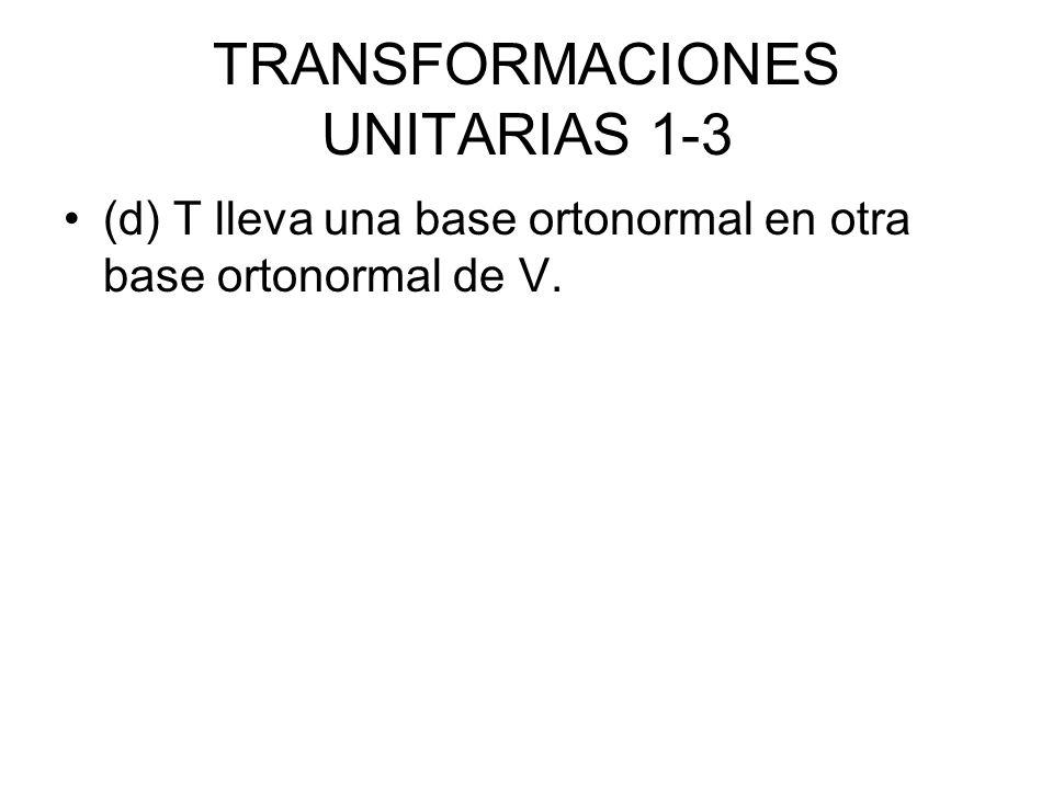 TRANSFORMACIONES UNITARIAS 1-3