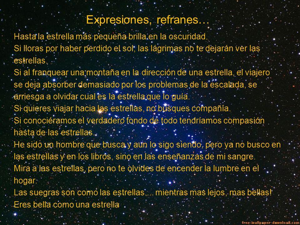 Expresiones, refranes…