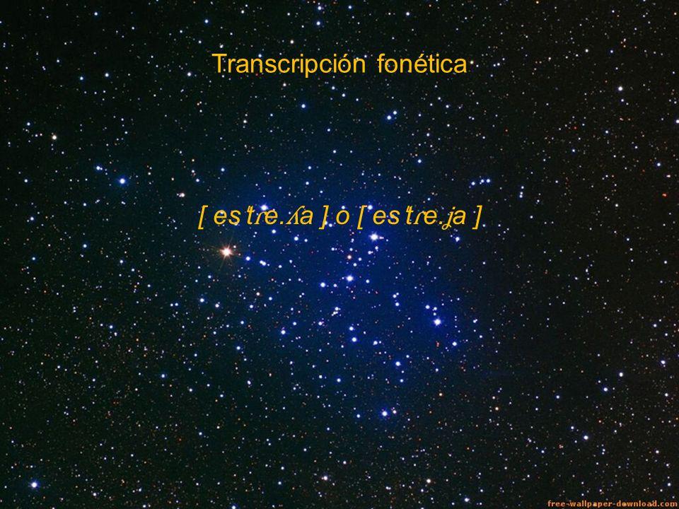 Transcripción fonética