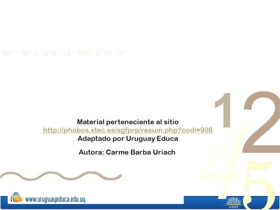 Adaptado por Uruguay Educa