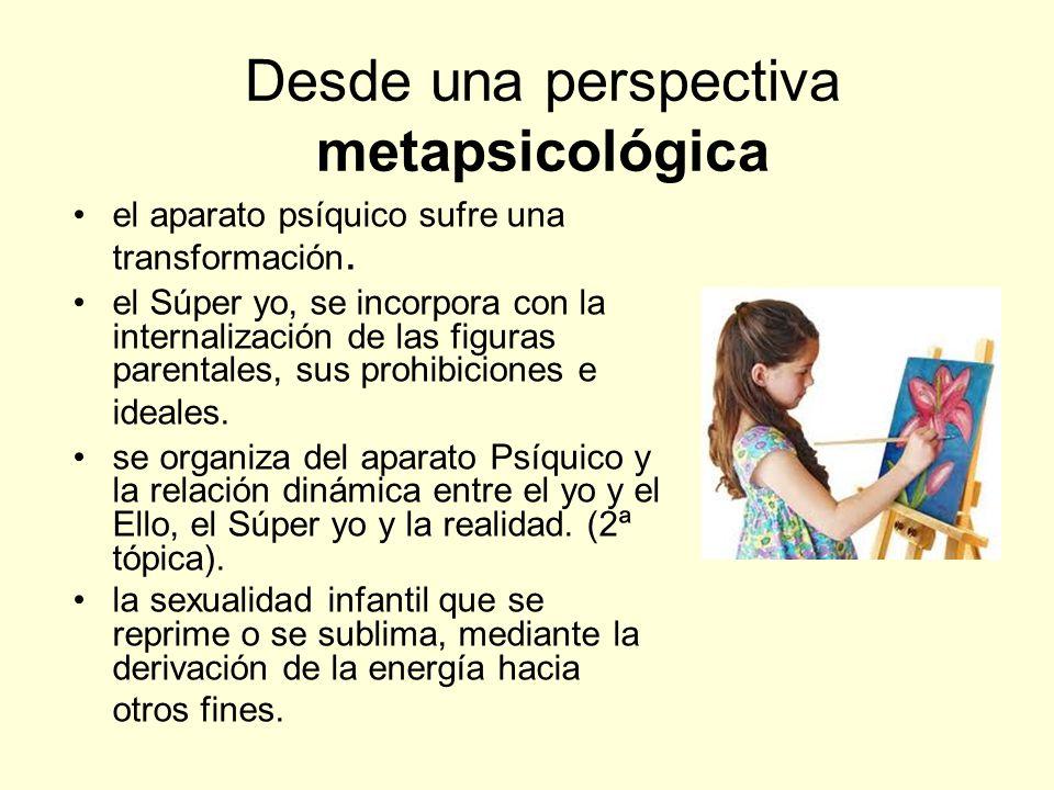 Desde una perspectiva metapsicológica