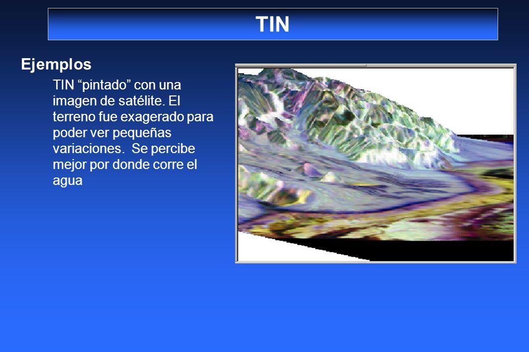 TIN Ejemplos.