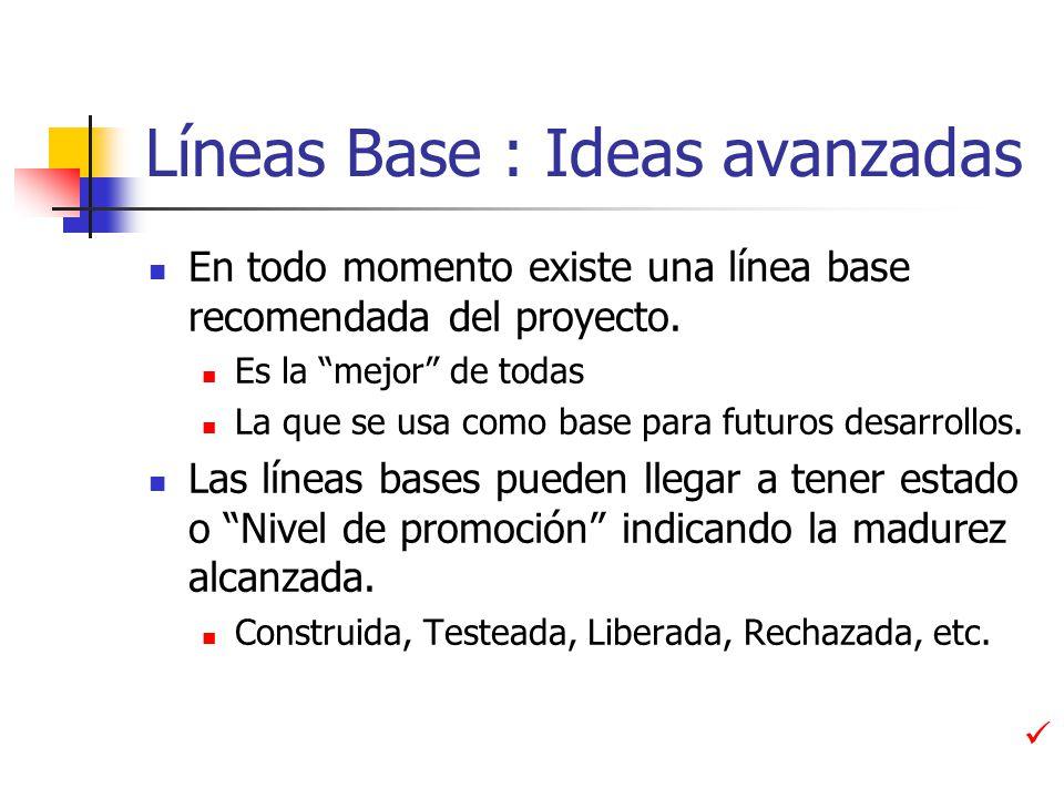 Líneas Base : Ideas avanzadas