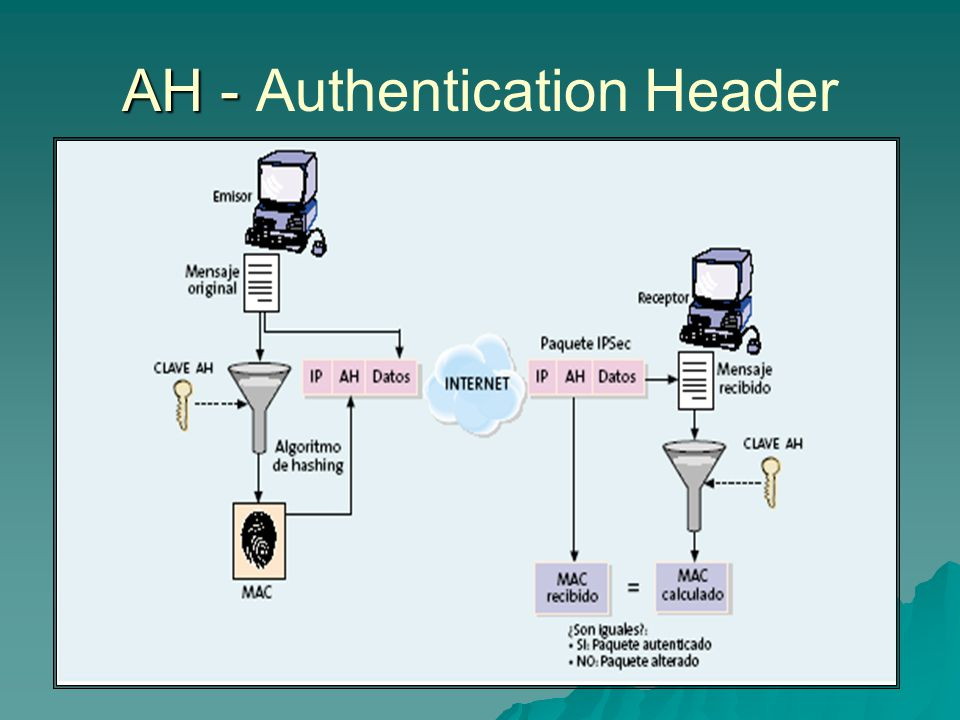 AH - Authentication Header
