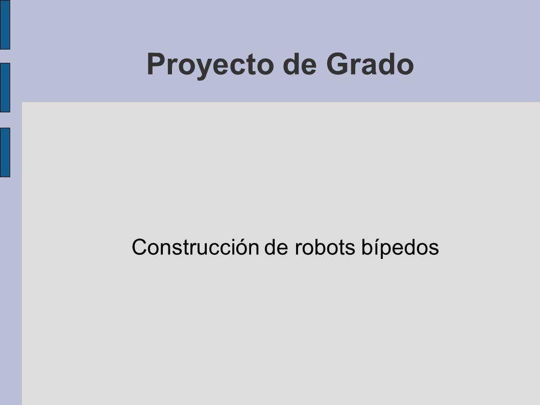Construcción de robots bípedos