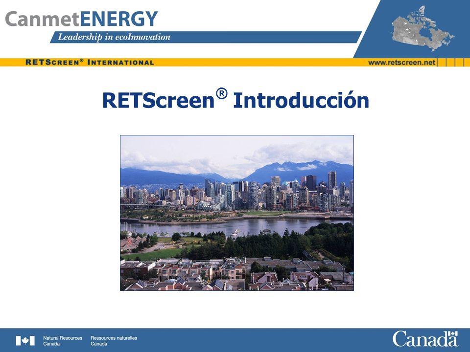 RETScreen® Introducción