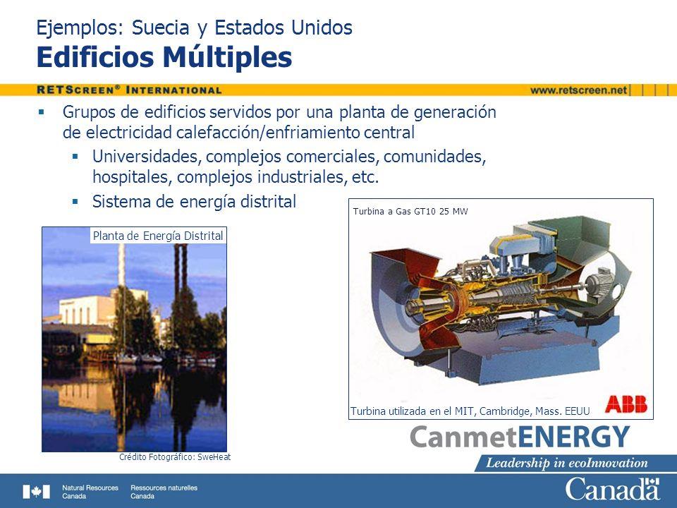 Ejemplos: Suecia y Estados Unidos Edificios Múltiples