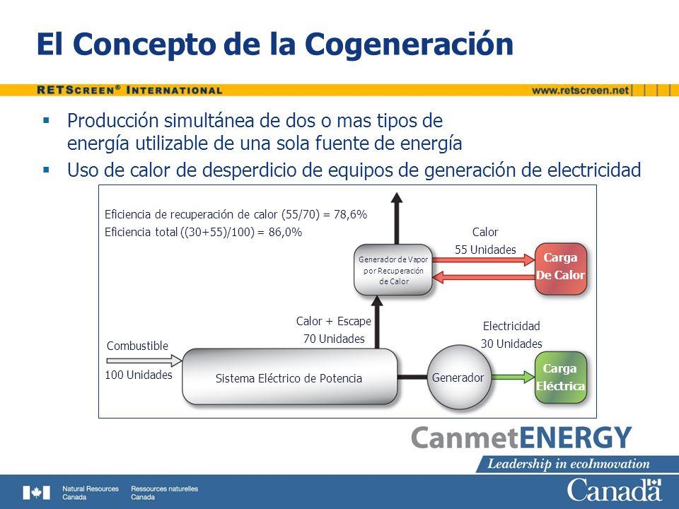 El Concepto de la Cogeneración