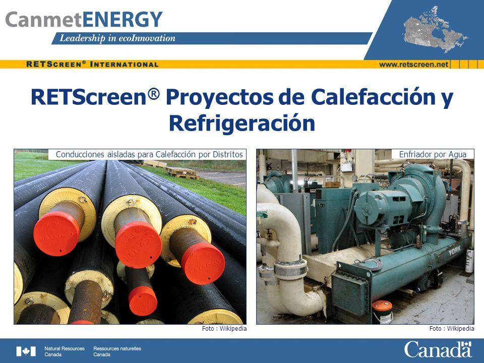 RETScreen® Proyectos de Calefacción y Refrigeración