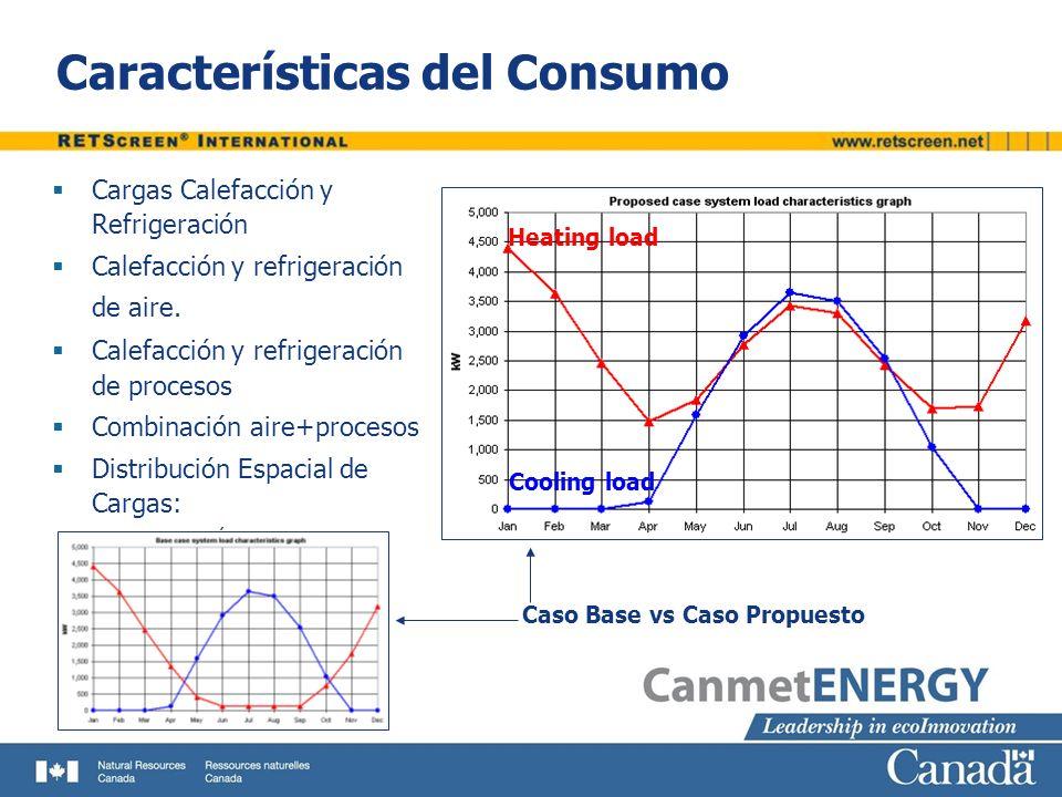 Características del Consumo