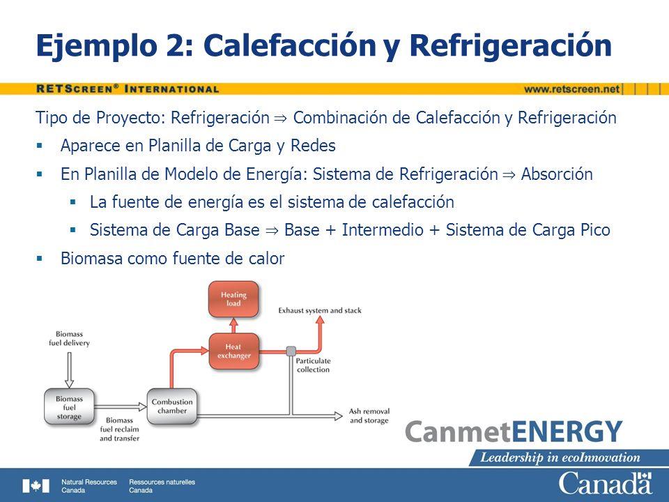 Ejemplo 2: Calefacción y Refrigeración