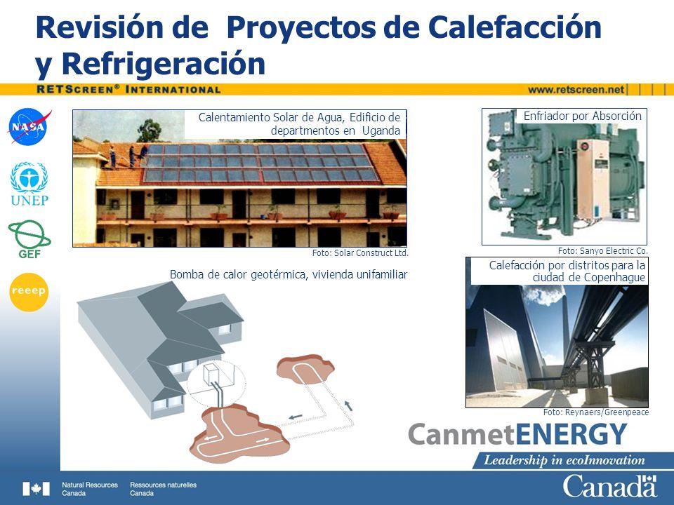 Revisión de Proyectos de Calefacción y Refrigeración