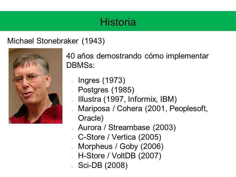 Historia Michael Stonebraker (1943)
