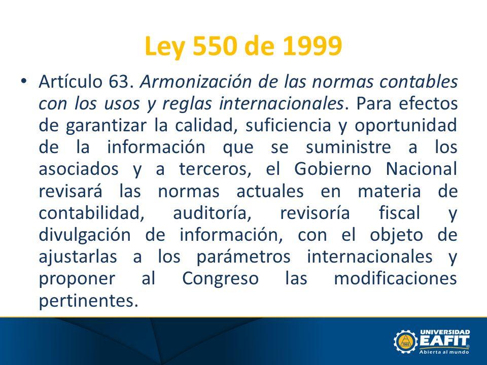 Ley 550 de 1999