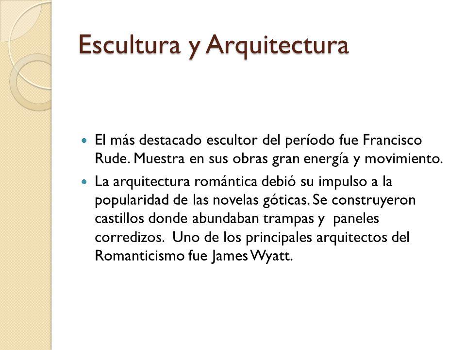 Escultura y Arquitectura