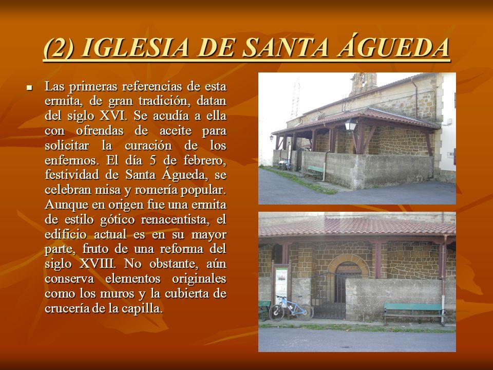 (2) IGLESIA DE SANTA ÁGUEDA