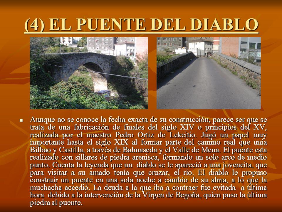 (4) EL PUENTE DEL DIABLO
