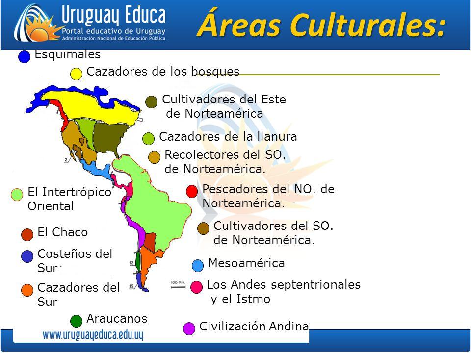 Áreas Culturales: Esquimales Cazadores de los bosques