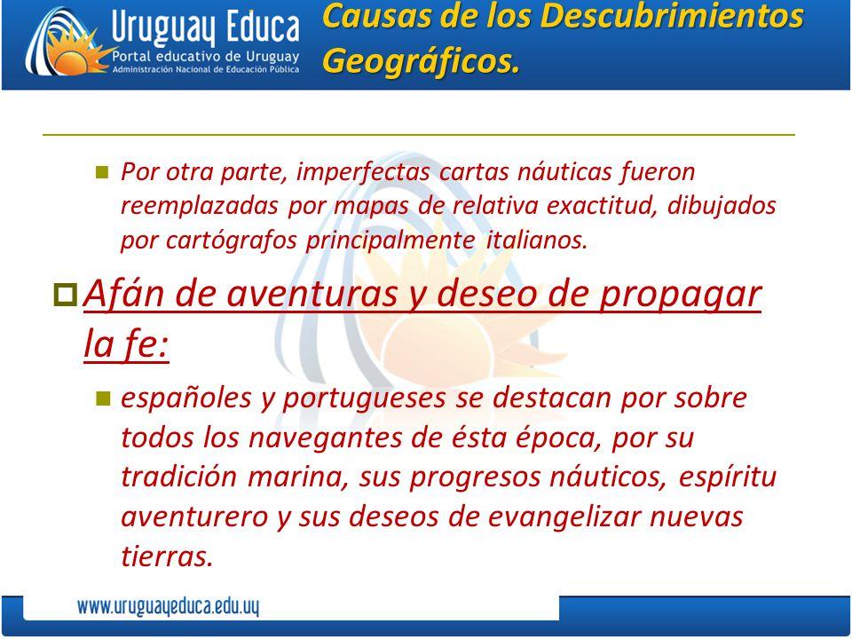 Causas de los Descubrimientos Geográficos.