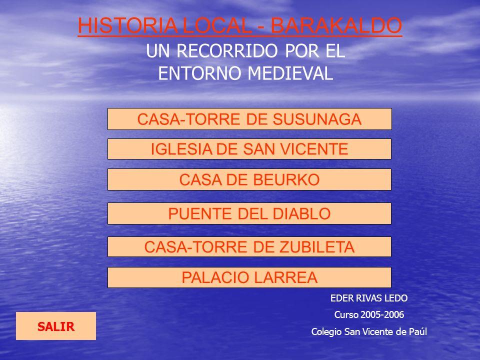 HISTORIA LOCAL - BARAKALDO