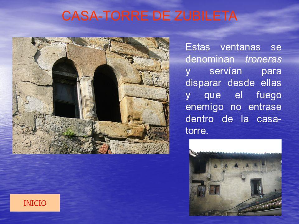 CASA-TORRE DE ZUBILETA