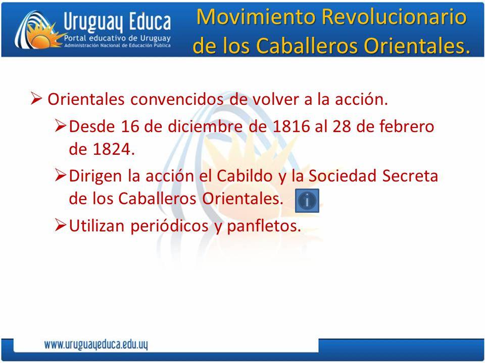 Movimiento Revolucionario de los Caballeros Orientales.