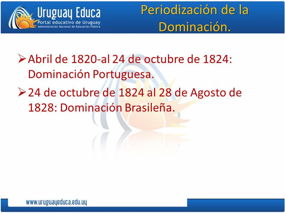 Periodización de la Dominación.