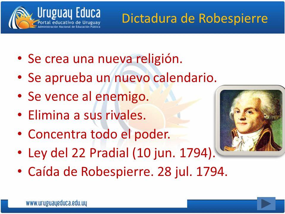 Dictadura de Robespierre