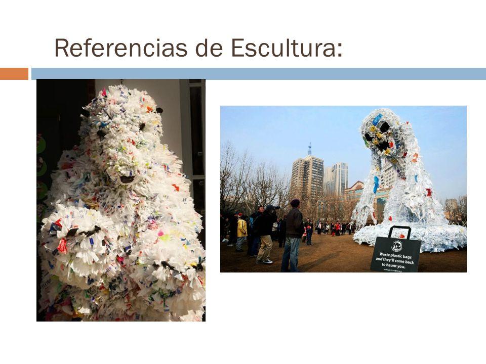Referencias de Escultura: