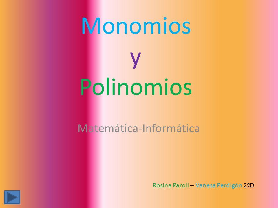 Matemática-Informática
