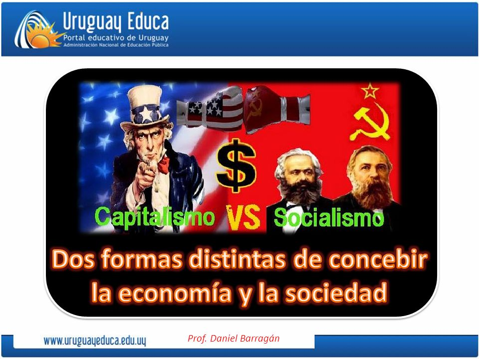 Dos formas distintas de concebir la economía y la sociedad