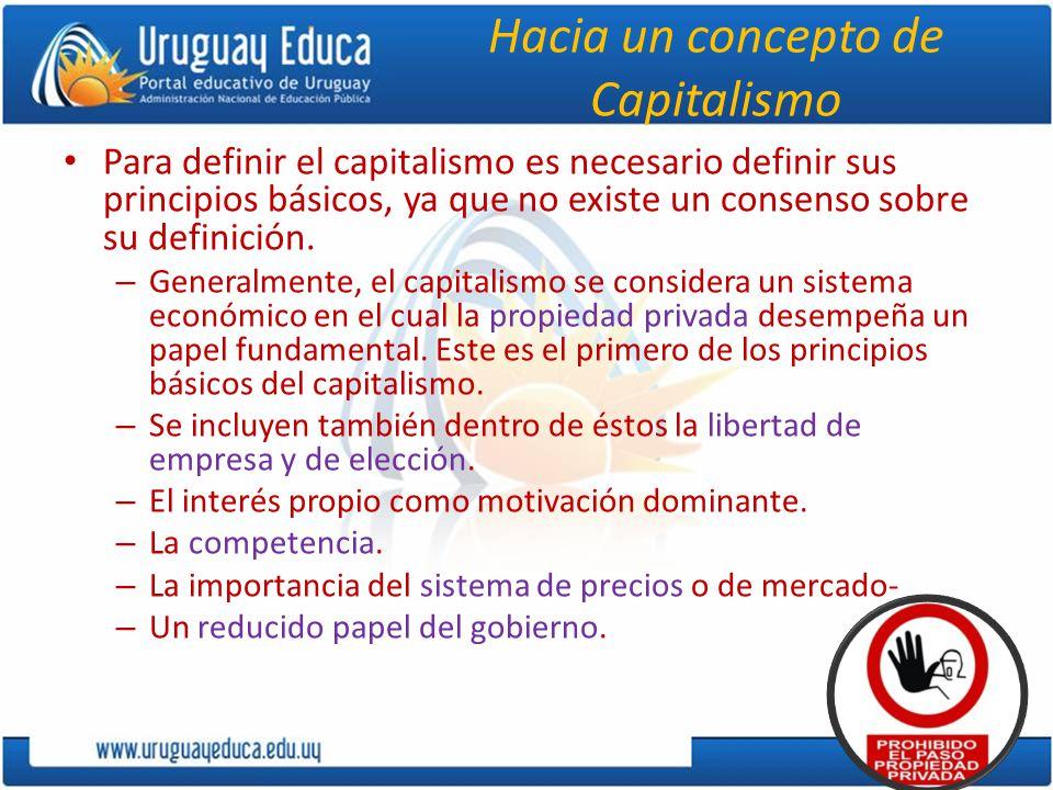 Hacia un concepto de Capitalismo