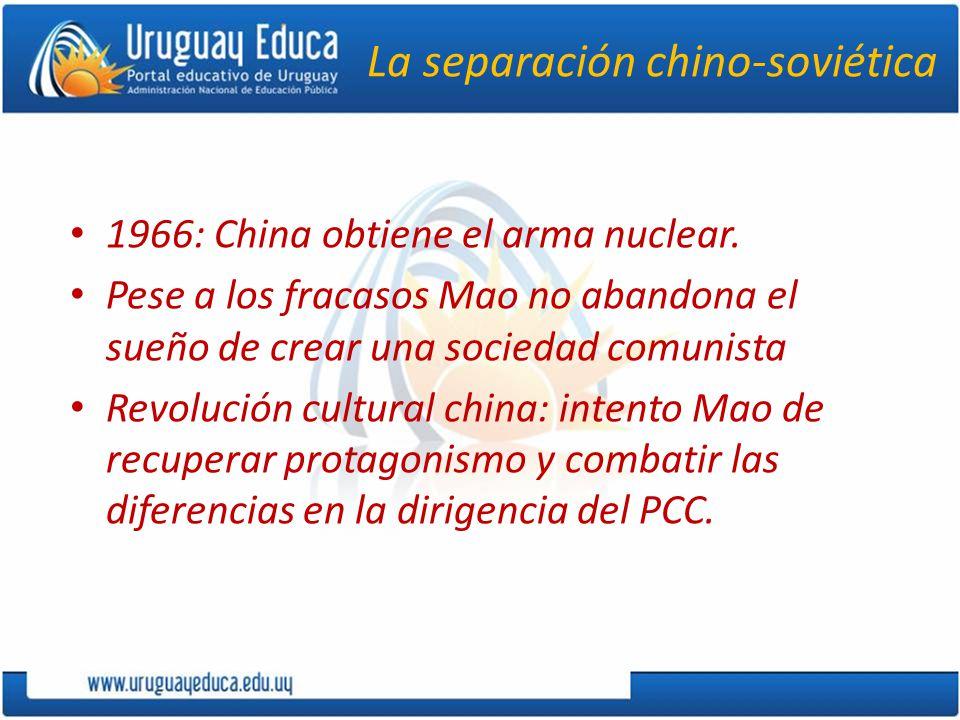 La separación chino-soviética