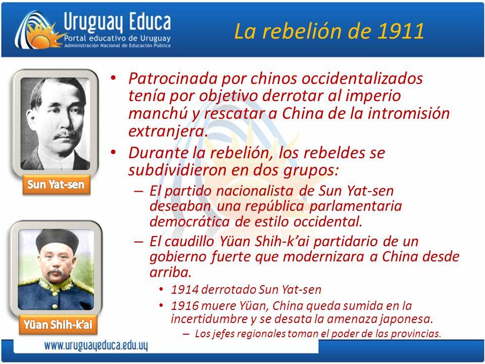 La rebelión de 1911