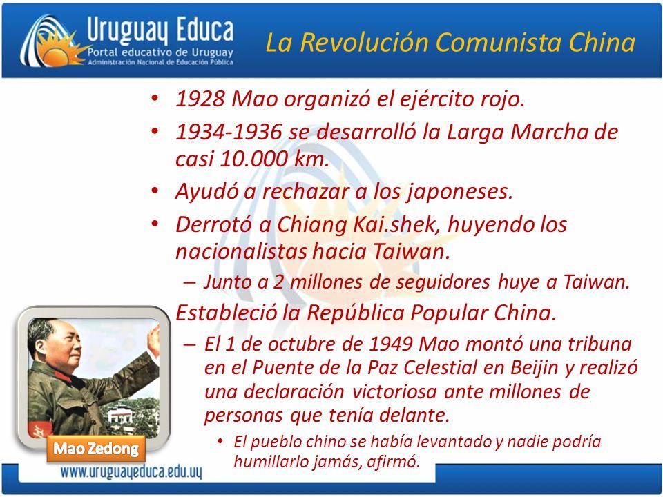 La Revolución Comunista China