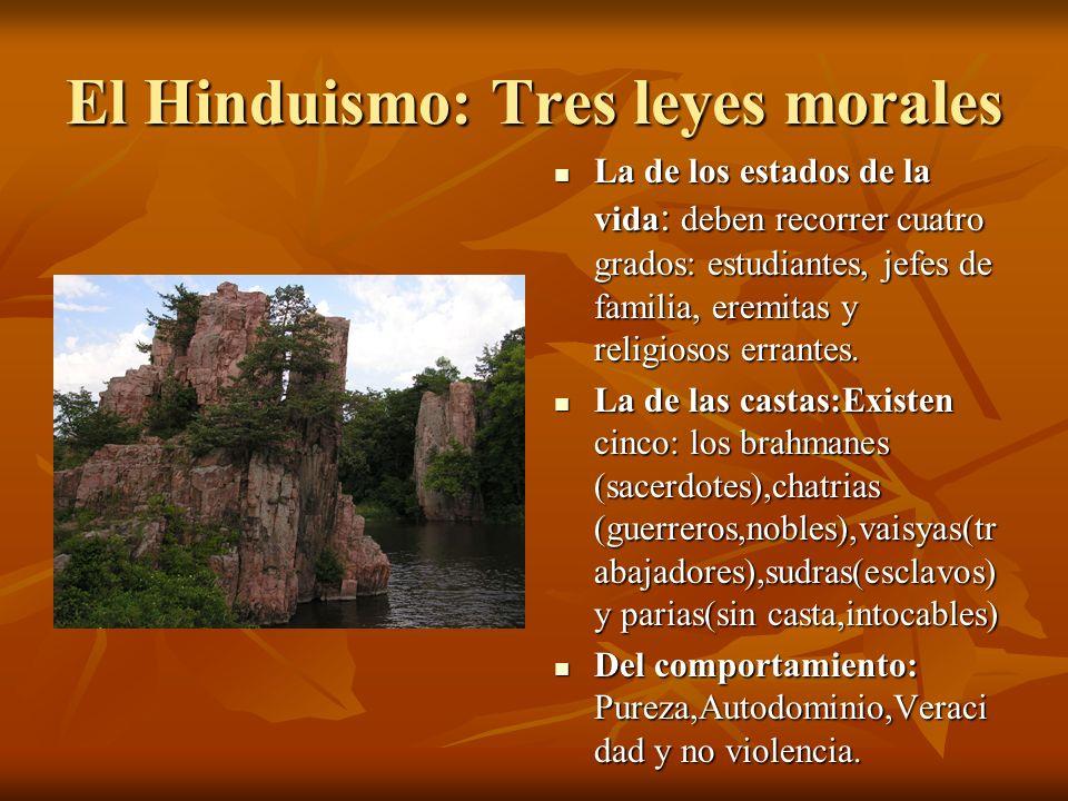 El Hinduismo: Tres leyes morales