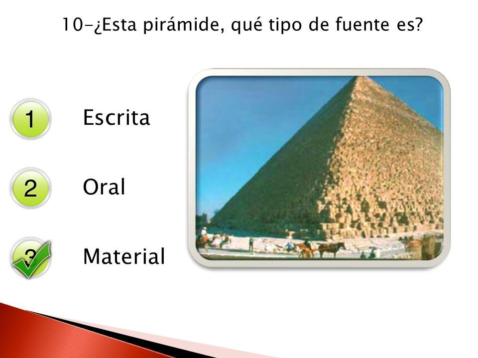 10-¿Esta pirámide, qué tipo de fuente es