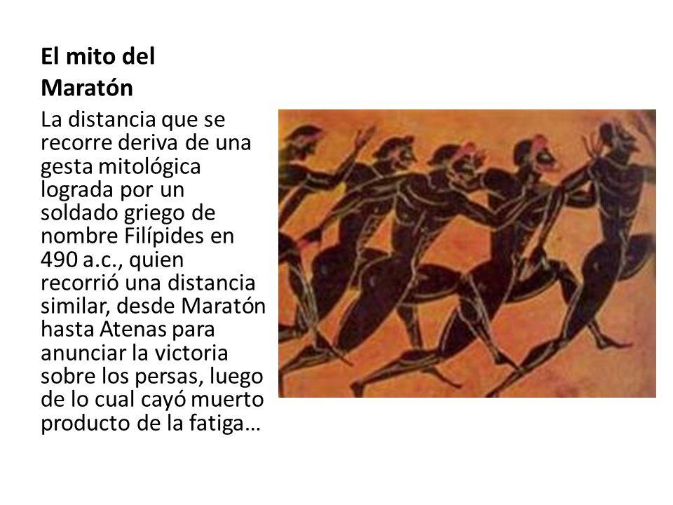 El mito del Maratón