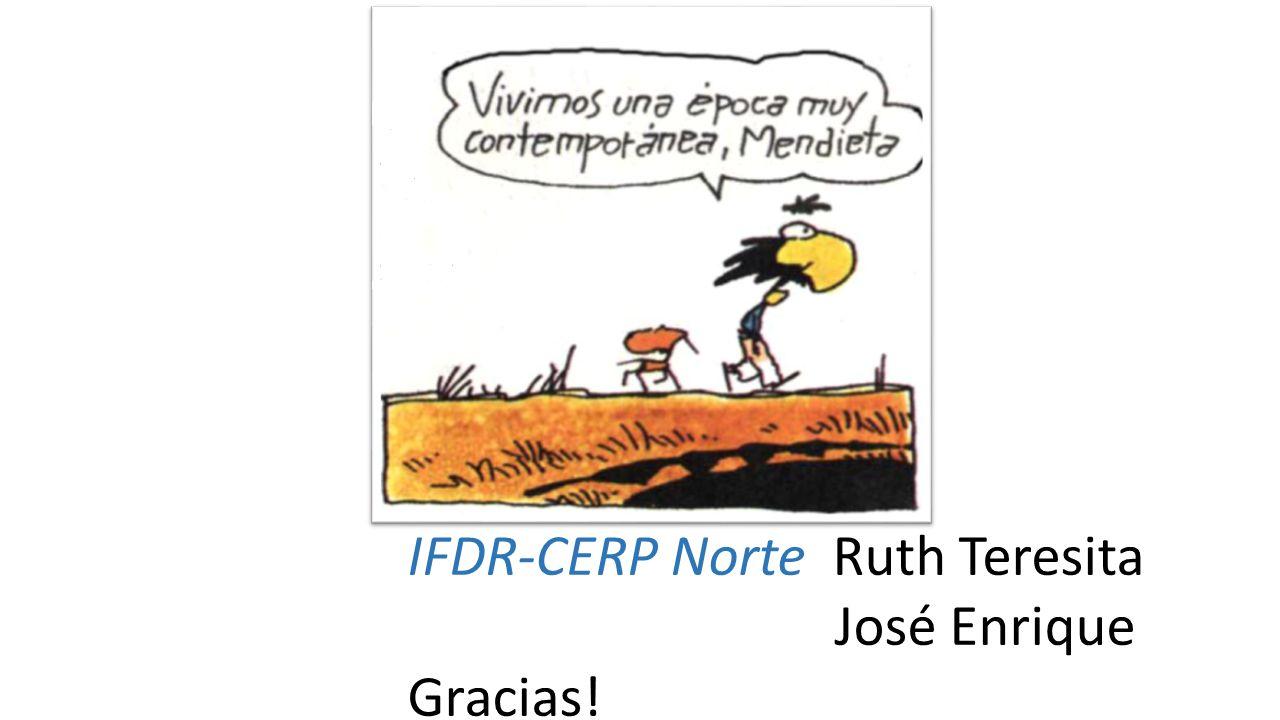 IFDR-CERP Norte Ruth Teresita
