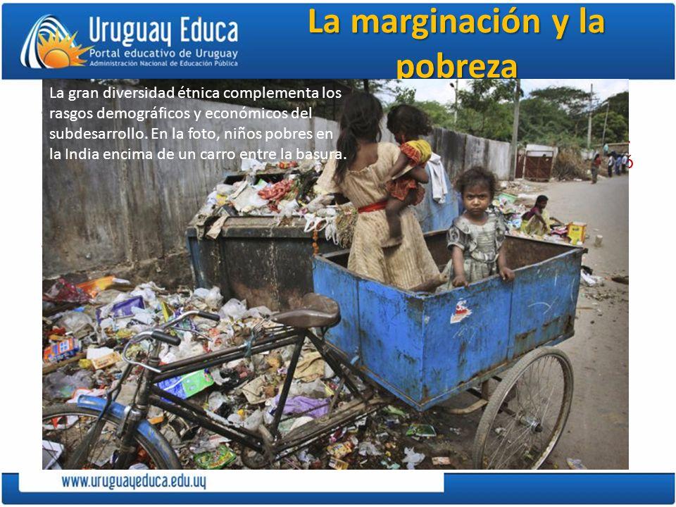 La marginación y la pobreza