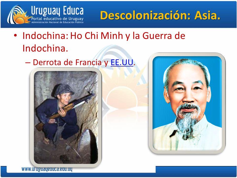 Descolonización: Asia.