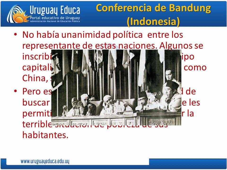 Conferencia de Bandung (Indonesia)
