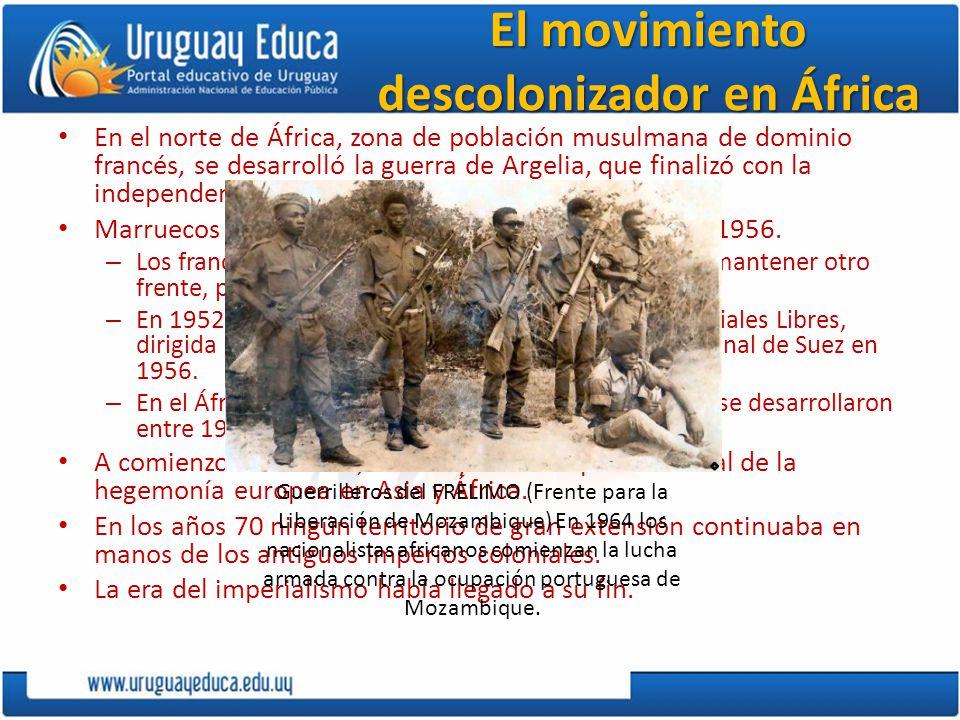 El movimiento descolonizador en África