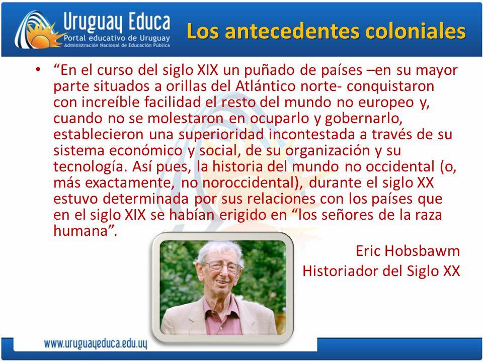 Los antecedentes coloniales