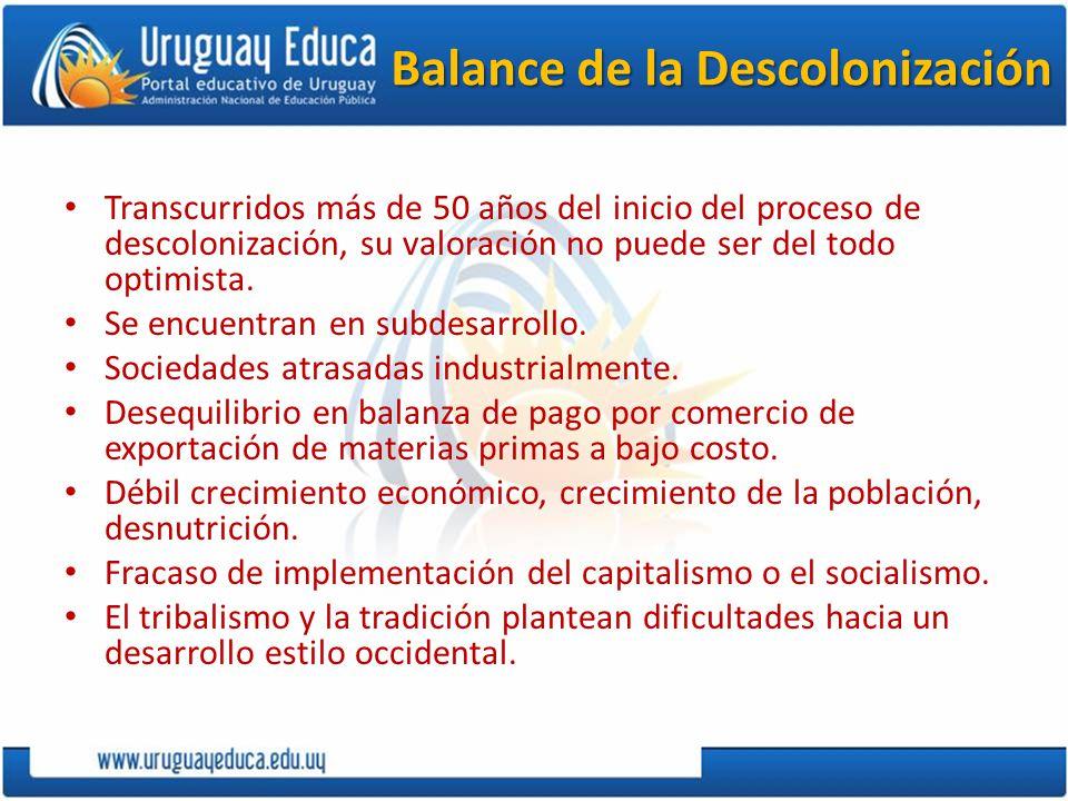 Balance de la Descolonización