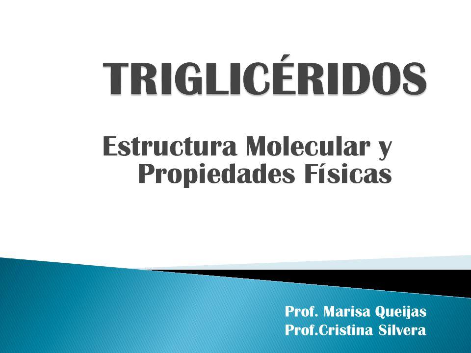 Estructura Molecular y Propiedades Físicas