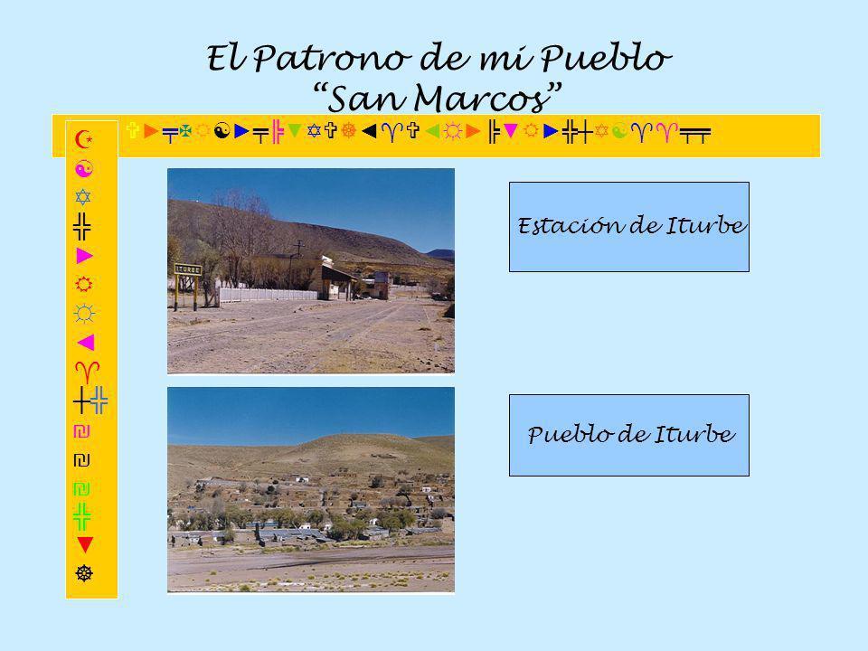 El Patrono de mi Pueblo San Marcos