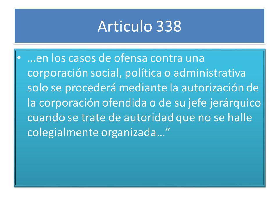 Articulo 338