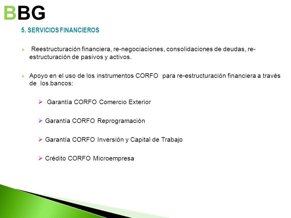 BBG 5. SERVICIOS FINANCIEROS